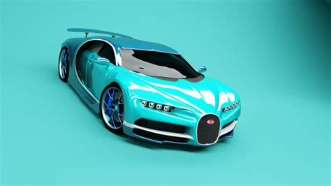 As the successor to the. Bugatti Chiron 2017 sports car 3D model Download for Free