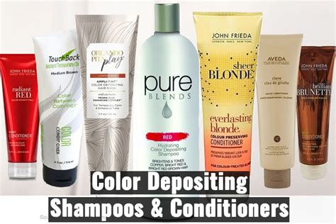Best Color Depositing Shampoos And Conditioners You Must