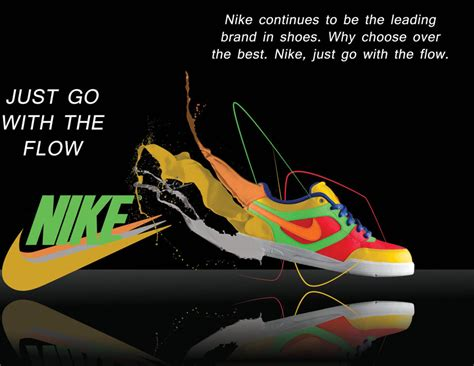 Nike Shoe Ad By Acrylical On Deviantart