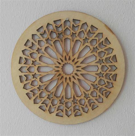 holz ornament wand holzornament kreis 123 d 14 cm verzierung applikation