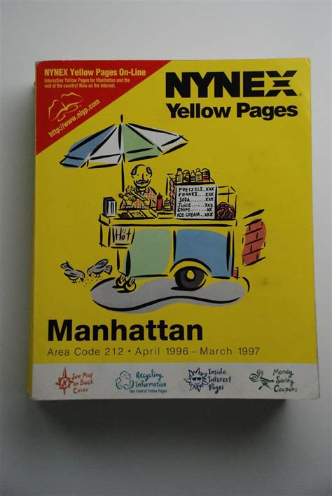 nynex yellow pages nynex yellow pages manhattan april