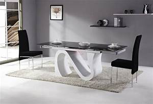 Salle a manger design modernite et convivialite for Idee deco cuisine avec meuble salle a manger complete contemporain