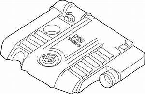 2007 Volkswagen Eos Air Filter Housing  2006