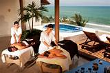Massage in mexican hotel