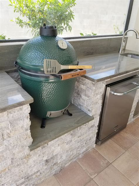 green egg built in outdoor kitchen the big green egg outdoor kitchen outdoor kitchens 8351