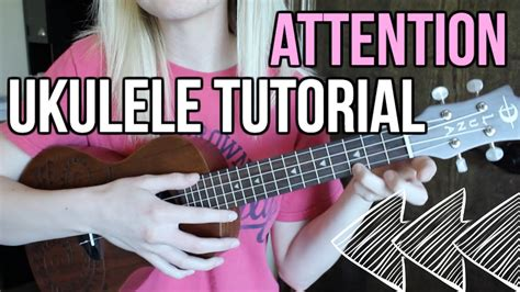 All songs are made from chords. Attention - Charlie Puth | UKULELE TUTORIAL (chords & strumming!) - YouTube