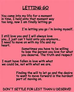 Letting Go...Moving On #love #moving on #letting go #let ...