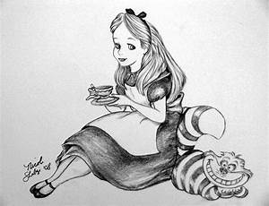 Alice in wonderland pencil drawing | Art | Pinterest ...