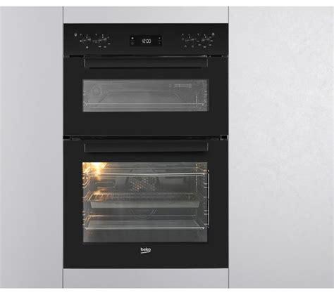 buy beko bdfb electric double oven black