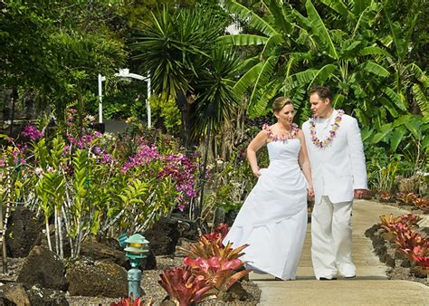 plantation gardens kauai garden weddings island