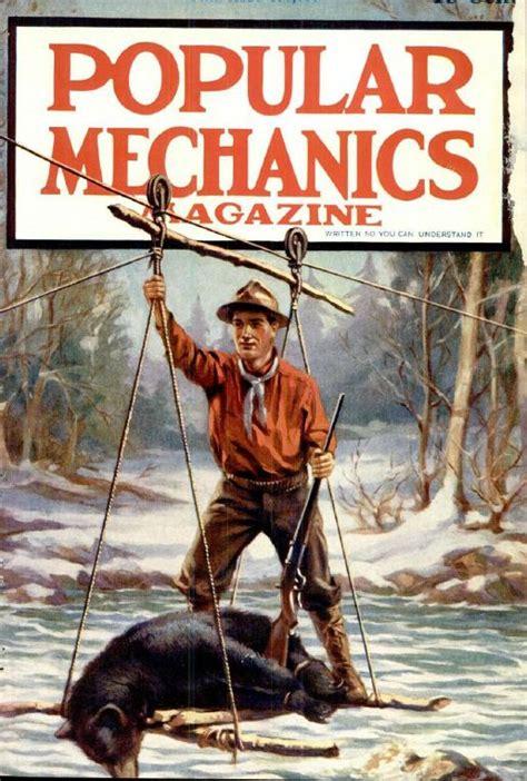 vintage popular mechanics magazine volume  dvd