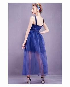 blue organza long wedding guest dress gemgrace With blue wedding guest dress