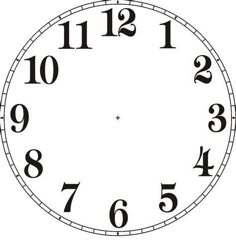 reloj manecillas para colorear imagui