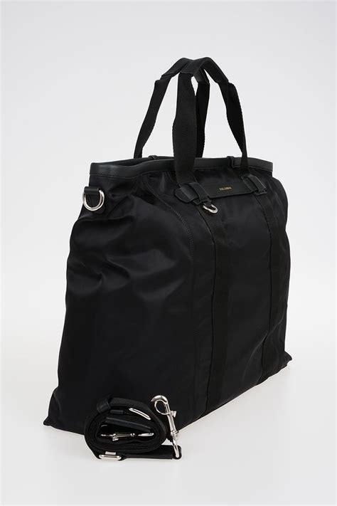dolce gabbana nylon tote bag men glamood outlet