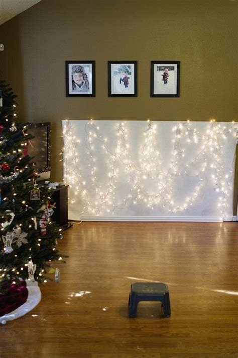 Easy Photo Background Ideas by Diy Easy Bokeh Light Backdrops My