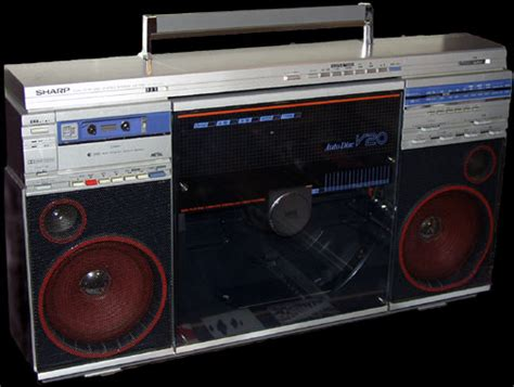 Cool Boombox  Vintage Electronics Have Soul  The Pocket