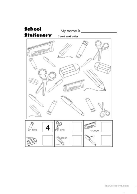 All Worksheets » School Objects Worksheets Pdf  Printable Worksheets Guide For Children And Parents