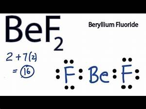 What Is The Bef2 Lewis Structure