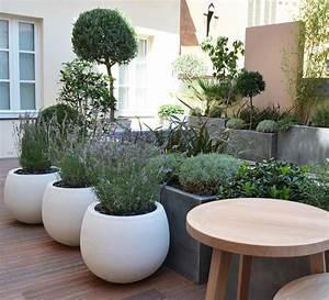 plante pot exterieur terrasse atlubcom With chambre bébé design avec pot de fleur plastique gifi