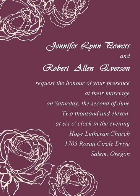 marriage invitation cards free download Electronic