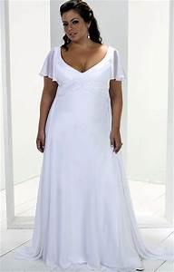 flowing plus size beach wedding dress considering for vow With plus size flowing wedding dresses