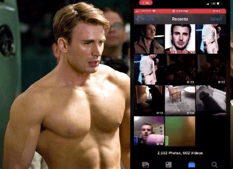 PHOTO: Captain America Trends as Chris Evans Accidentally ...