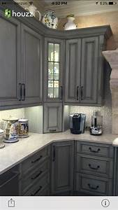 Gray, Cabinets, -, Cabinets
