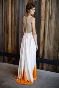 diy wedding dress style crush dip dye wedding dresses diy