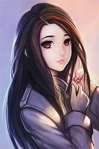 girl with black hair and brown eyes drawing - Google ...