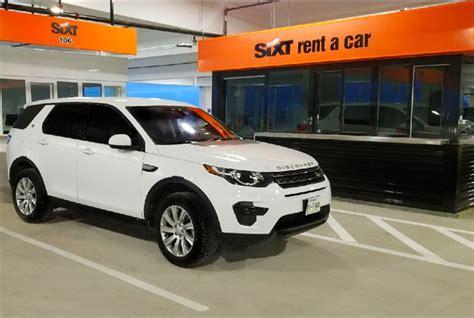 sixt rent  car opens  san antonio international airport
