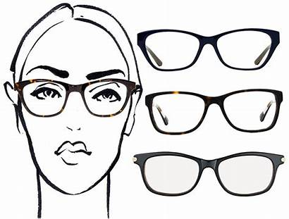 Glasses Oval Faces Face Shape Chic Round