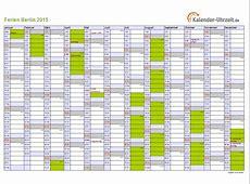 Ferien Berlin 2015 Ferienkalender zum Ausdrucken