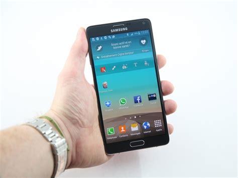 Test Samsung Galaxy Note 4  Notre Avis  Cnet France