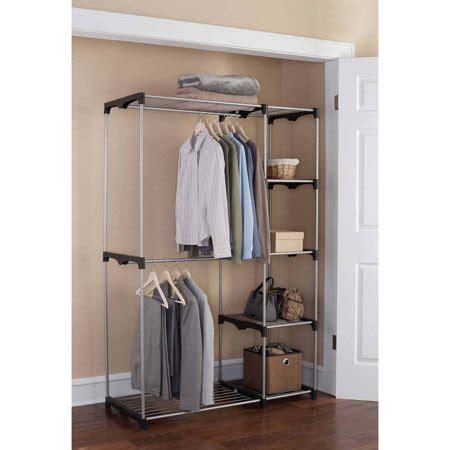 Mainstays Wire Shelf Closet Organizer, Blacksilver