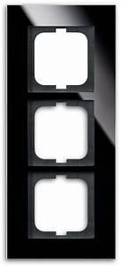 Carat Busch Jäger : abdeckrahmen 3 fach rahmen carat glas schwarz busch jaeger 1723 825 von busch jaeger premium ~ Frokenaadalensverden.com Haus und Dekorationen