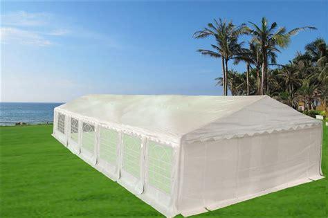 heavy duty white gazebo canopy tent