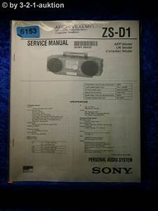 Sony Service Manual Zs D1 Audio System   6153