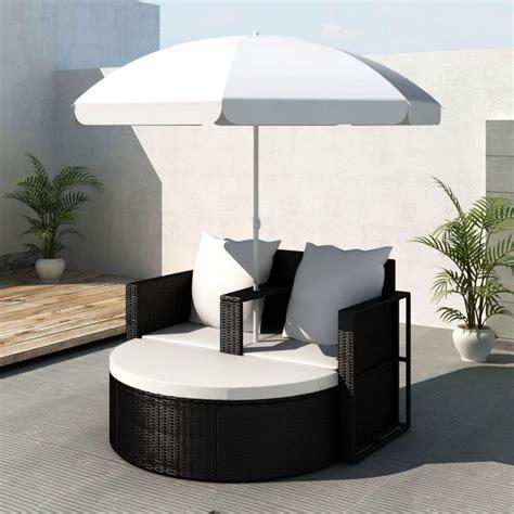 polyrattan lounge set günstig gartenlounge poly rattan lounge set gartengarnitur schwarz g 252 nstig kaufen vidaxl de