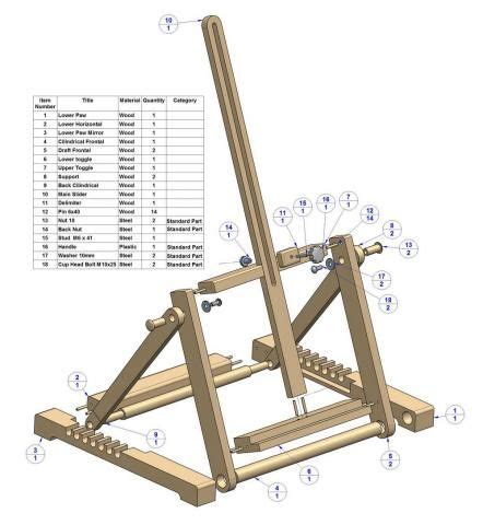 wood artist easel plans woodworking projects plans