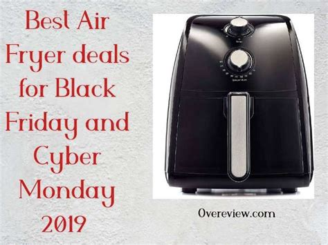 air fryer friday deals cyber monday fryers