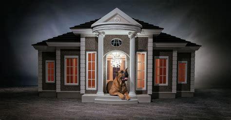 barkingham palace  designer doghouses