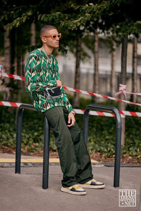 street style  paris mens fashion week ss