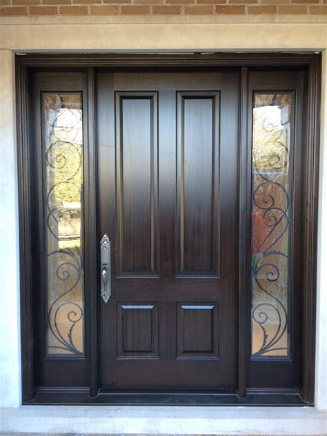 Entry Door With Window by Solid Front Door With Windows On Both Sides Home