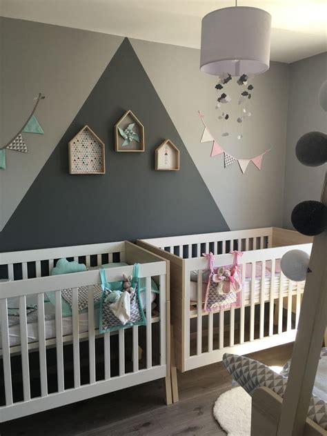 chambre bébé baby chambre jumeaux bebe