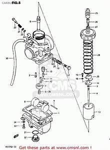 Suzuki Pe175 1982  Z  Carburetor