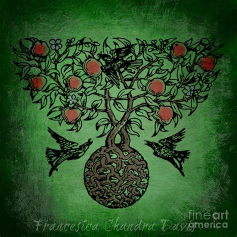 Celtic Tree Of Life Mixed Media by Sacred Muse