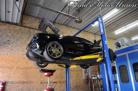 exotic service  ferrari  oil change car repair