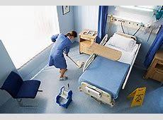 Desinfección de superficies hospitalarias en Europa y EEUU