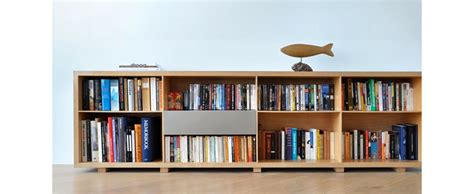 Low Height Bookshelf by Designing For Book Bookshelves Core77