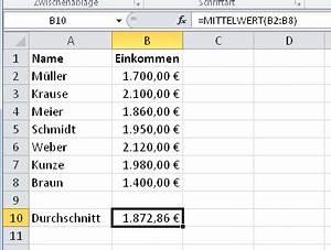 Durchschnitt Berechnen Punkte : einen durchschnitt berechnen der mittelwert giga ~ Themetempest.com Abrechnung